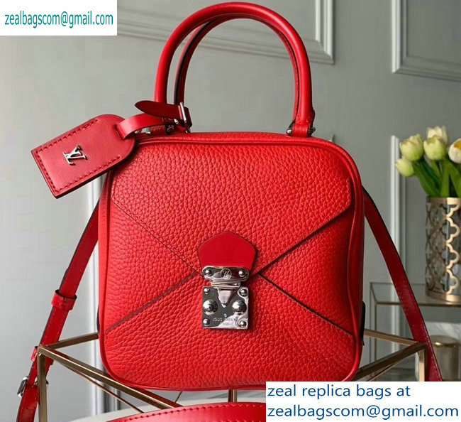 Louis Vuitton Cube-shaped Neo Square Bag M55475 Rouge 2019