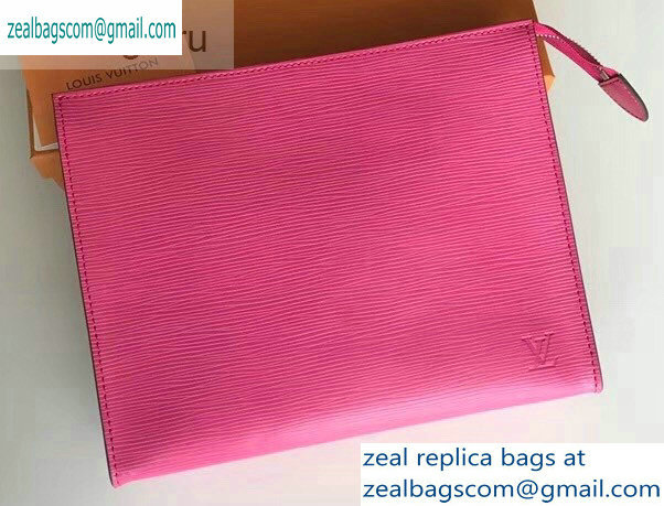 Louis Vuitton Epi Leather Toiletry Pouch 26 Bag M41085 Fuchsia