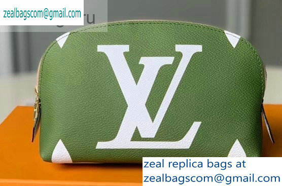 Louis Vuitton Pochette Cosmetique Cosme XL Bag M67693 Khaki