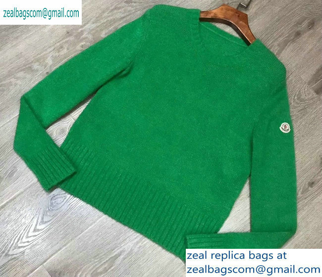 Moncler Knit Sweater Green 2019