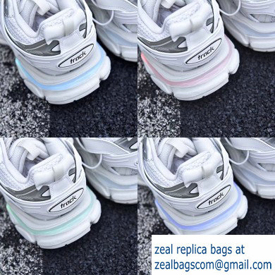 Balenciaga Track LED Trainers Women/Men Sneakers White