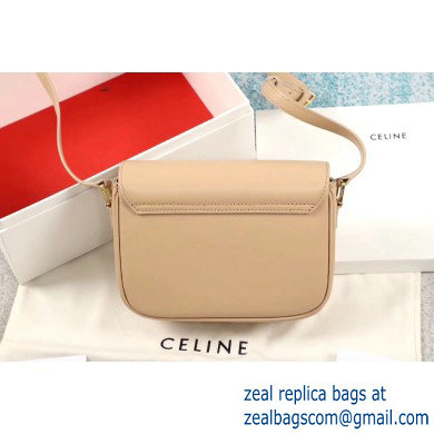 Celine Small C Bag with Pampille in Shiny Calfskin Nude 2019