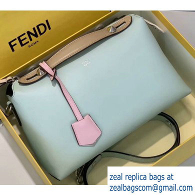 Fendi Leather By The Way Medium Boston Bag Ice Green