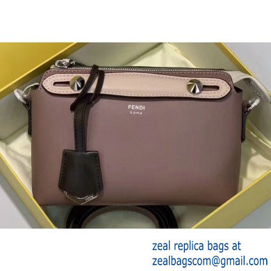 Fendi Leather By The Way Mini Boston Bag Dusty Pink