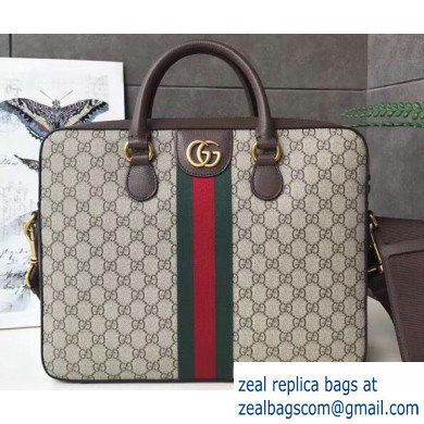 Gucci Web Ophidia GG Briefcase Bag 574793