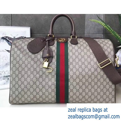 Gucci Web Ophidia GG Large Carry-on Duffle Bag 547959