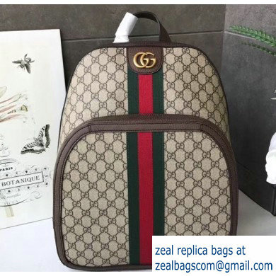 Gucci Web Ophidia GG Medium Backpack Bag 547967
