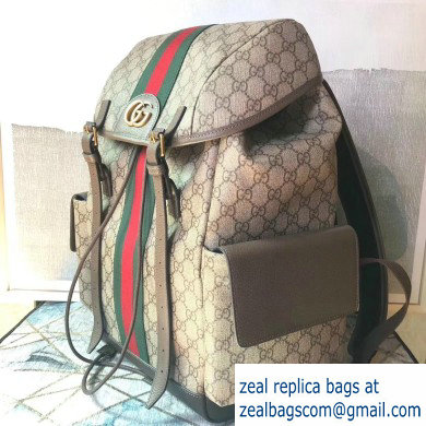 Gucci Web Ophidia GG Medium Backpack Bag 598140