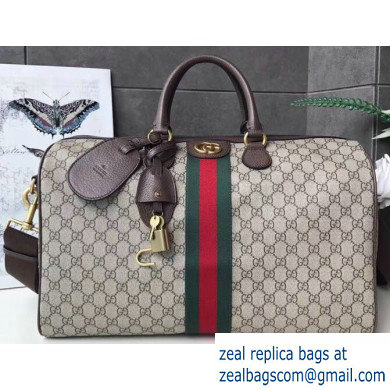 Gucci Web Ophidia GG Medium Carry-on Duffle Bag 547953