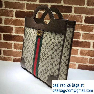 Gucci Web Ophidia GG Medium Top Handle Tote Bag 547941