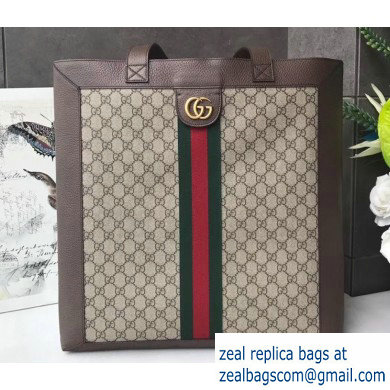 Gucci Web Ophidia GG Supreme Large Tote Bag 519335