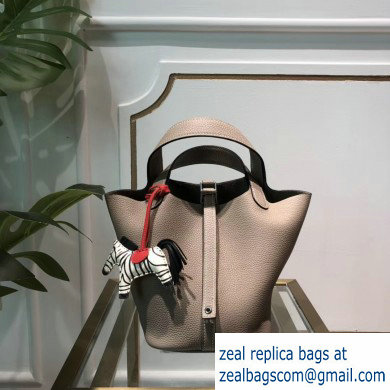 Hermes Picotin Lock Bag in original togo leather Elephant Grey(handmade)