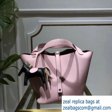 Hermes Picotin Lock Bag in original togo leather pink(handmade)