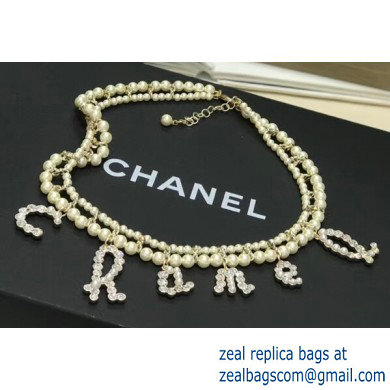 Chanel Necklace 161 2019