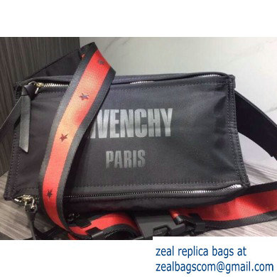 Givenchy 4G Logo Pandora Bum Bag in Nylon 01