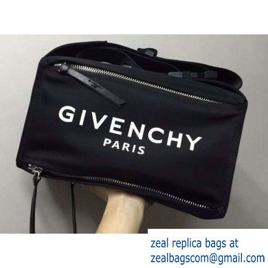 Givenchy 4G Logo Pandora Bum Bag in Nylon 02