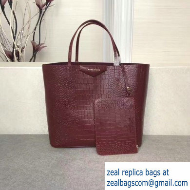 Givenchy Calfskin Antigona Shopper Tote Bag 07