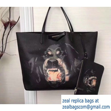 Givenchy Calfskin Antigona Shopper Tote Bag 11