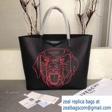 Givenchy Calfskin Antigona Shopper Tote Bag 14