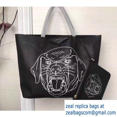Givenchy Calfskin Antigona Shopper Tote Bag 15