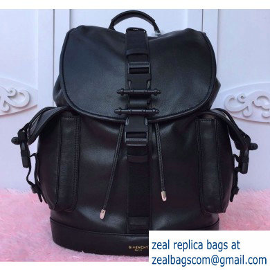 Givenchy Calfskin Backpack Bag 9625 Black