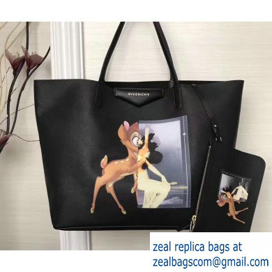 Givenchy Coated Canvas Antigona Shopper Tote Bag 01
