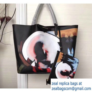 Givenchy Coated Canvas Antigona Shopper Tote Bag 11