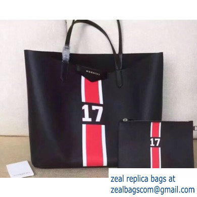 Givenchy Coated Canvas Antigona Shopper Tote Bag 14