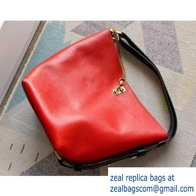 Givenchy GV Bucket Leather Bag Red