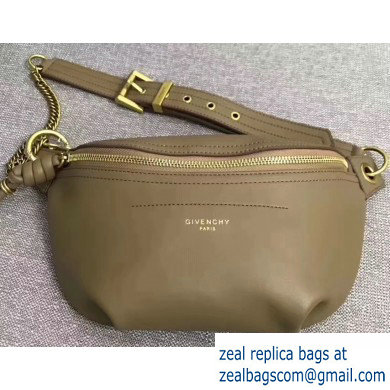Givenchy Whip Bum Bag in Smooth Leather Camel