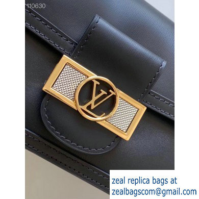 Louis Vuitton Lugano Mini Dauphine Bag Black Cruise 2020