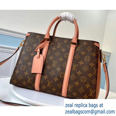 Louis Vuitton Monogram Canvas Soufflot MM Bag M44816 Nude Pink 2020