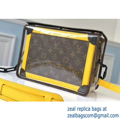 Louis Vuitton Monogram Canvas and PVC Mini Soft Trunk Bag M61116 2020