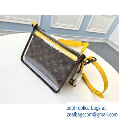 Louis Vuitton Monogram Canvas and PVC Triangle Shaped Messenger Bag M61115 2020 - Click Image to Close