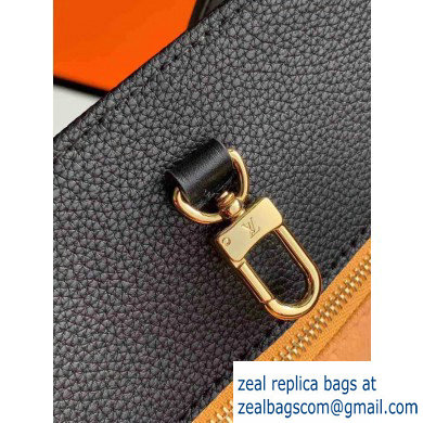 Louis Vuitton Monogram Empreinte Giant Onthego Tote Bag MM Black