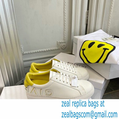 Givenchy URBAN STREET sneakers white/yellow