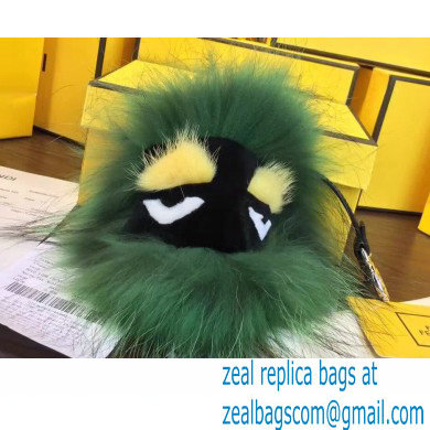 Fendi Fur Bag Bugs Charm 16