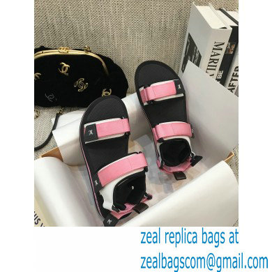Louis Vuitton Arcade Flat Sandals Pink 2021