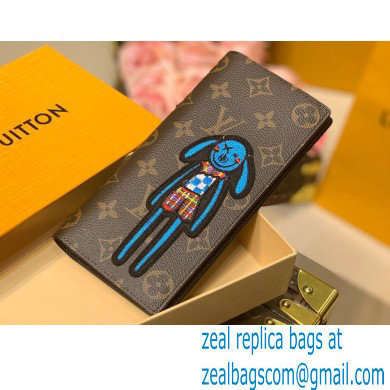 Louis Vuitton Monogram Canvas Brazza Wallet M80158 Zoom with Friends 2021