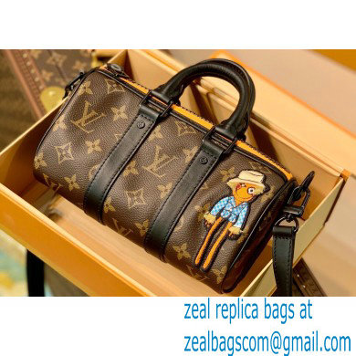 Louis Vuitton Monogram Canvas Keepall XS Bag M80201 Zoom with Friends 2021