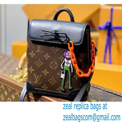 Louis Vuitton Monogram Canvas Steamer XS Bag M80327 Zoom with Friends 2021