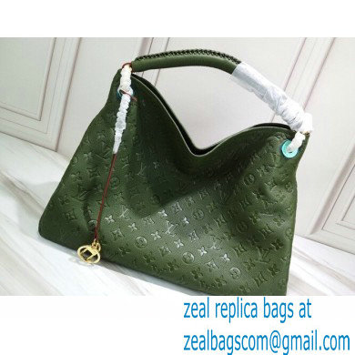 Louis Vuitton Monogram Empreinte Artsy MM Bag M43876 Army Green