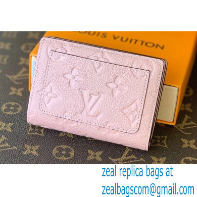 Louis Vuitton Monogram Empreinte Leather Clea Wallet Pink 2021