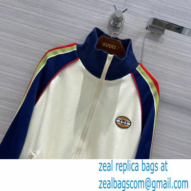 gucci Technical jersey zip-up jacket and pants 2021